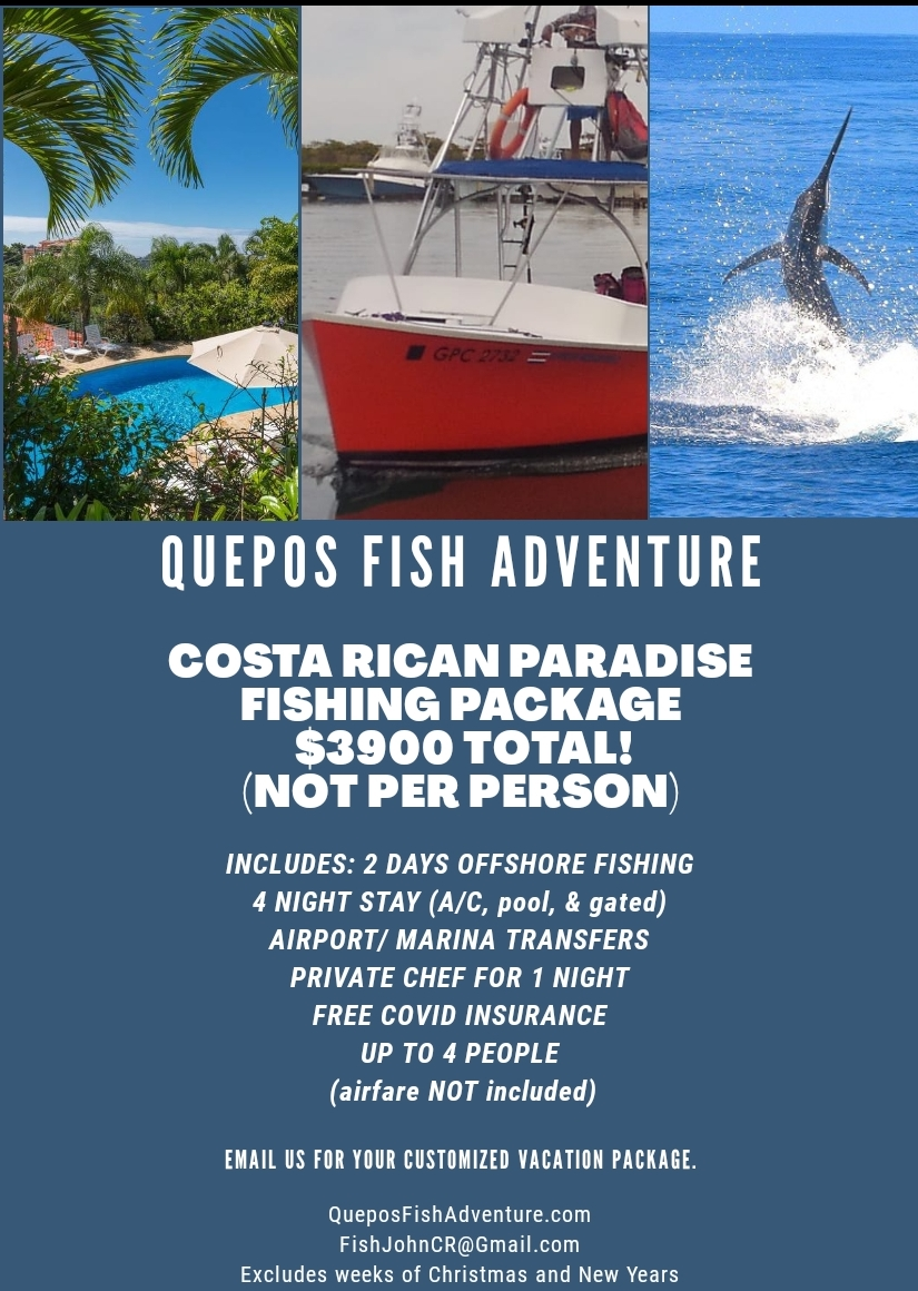 Quepos All Inclusive Fishing