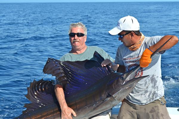 Costa Rica Caught Sailfish