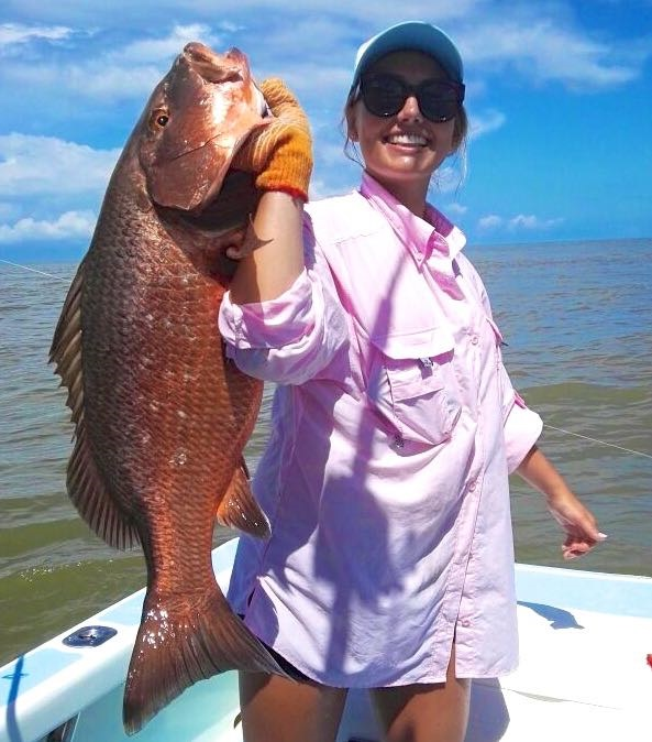 Cubera Snapper caught in Quepos Costa Rica August 2017