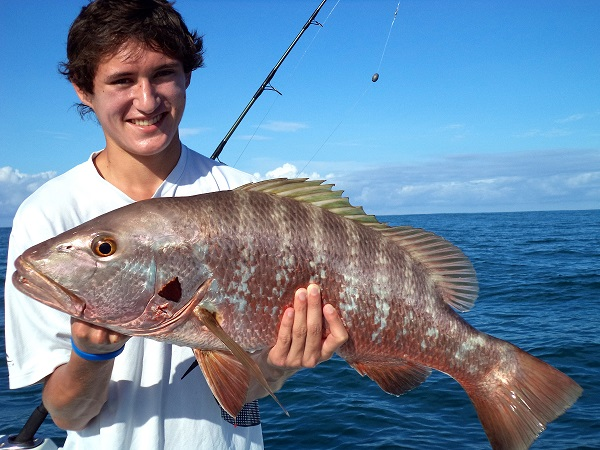 Quepos Grouper Fishing