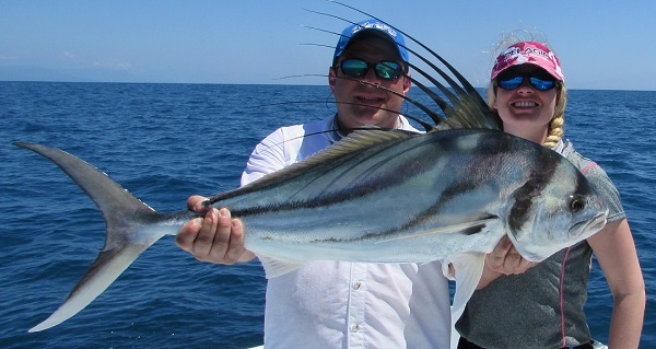 Quepos March 2015 Roosterfish Fishing