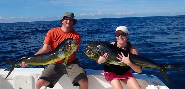Quepos Fishing Costa Rica Dorado