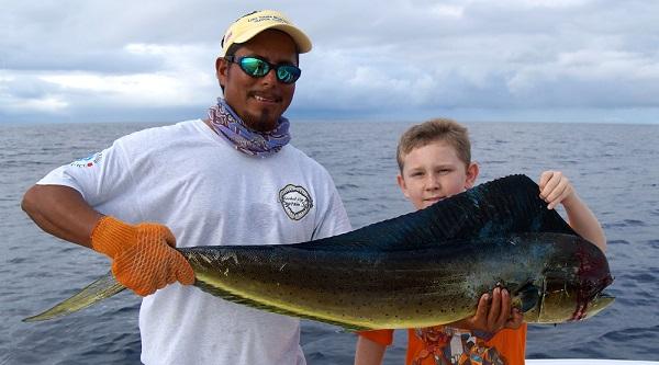 Quepos Fishing Picutre Mahi