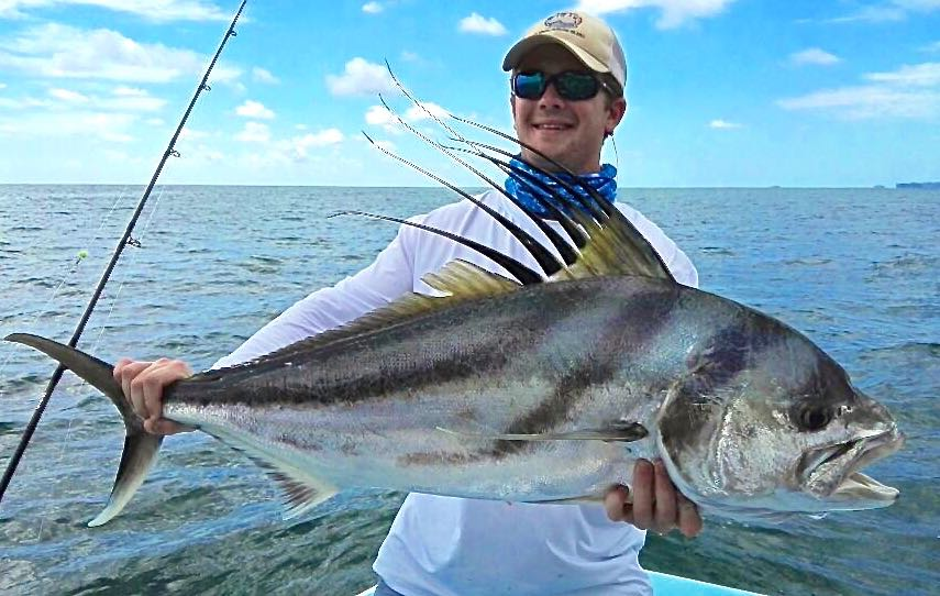 Charter Fishing Quepos Costa Rica Roosterfish