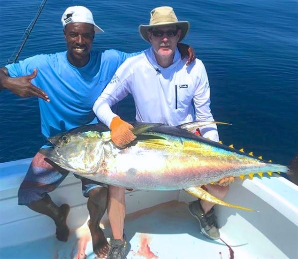 Quepos Fish Charter Boat Yellowfin Tuna
