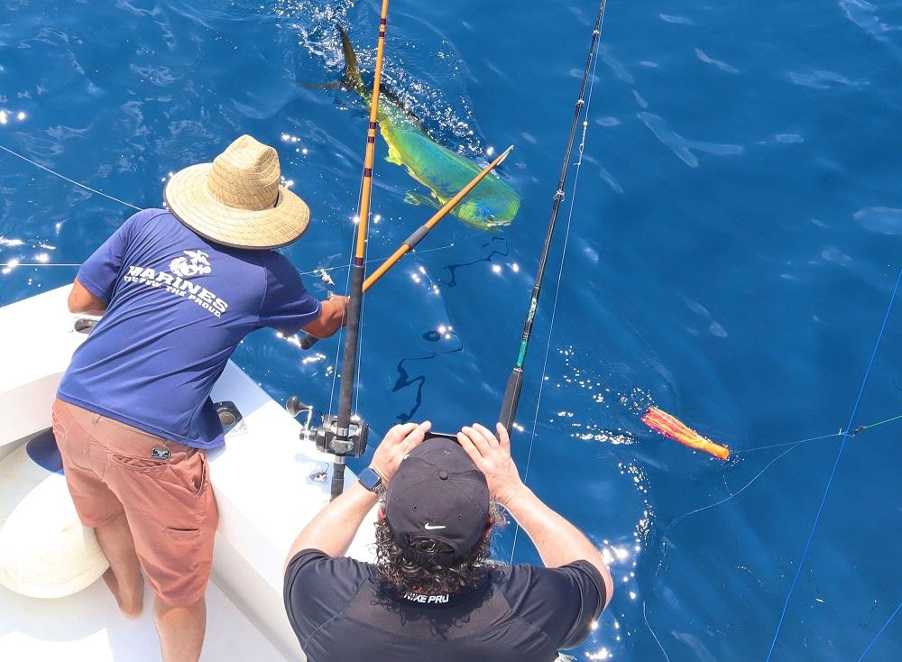 Quepos fishing mahi dorado charter