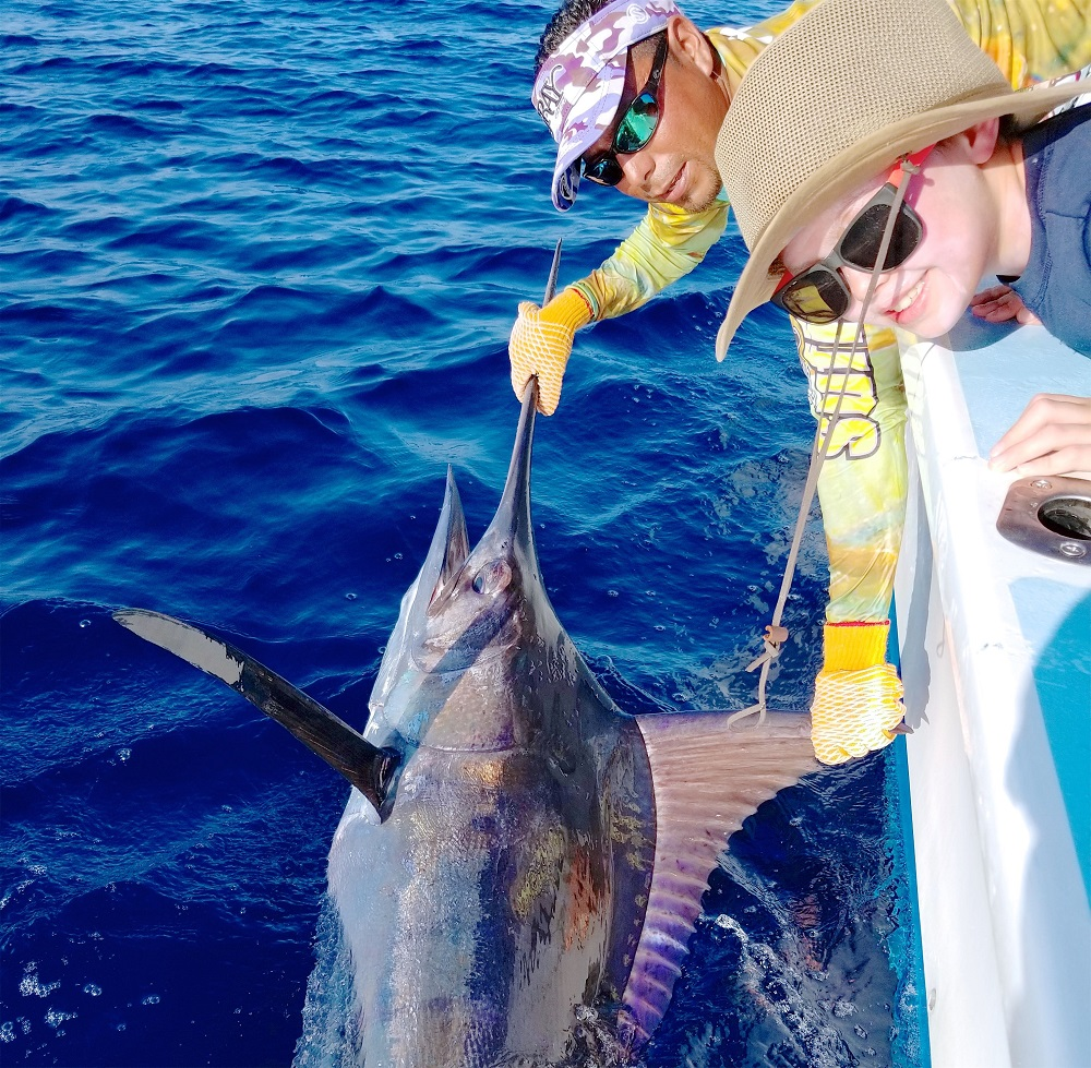 Quepos Charter Fishing Marlin