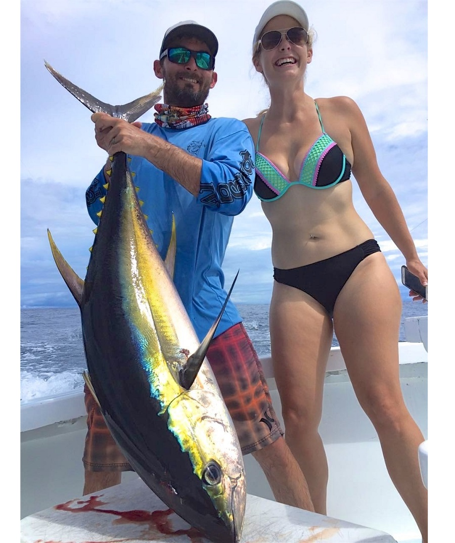 Quepos Fishing Charter Yellowfin Tuna