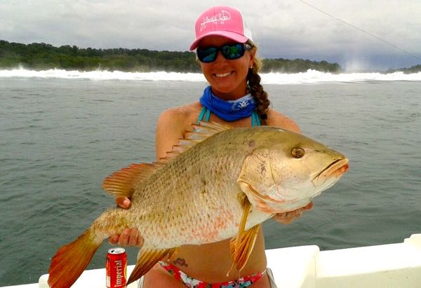 Quepos Women Fishing May 2016