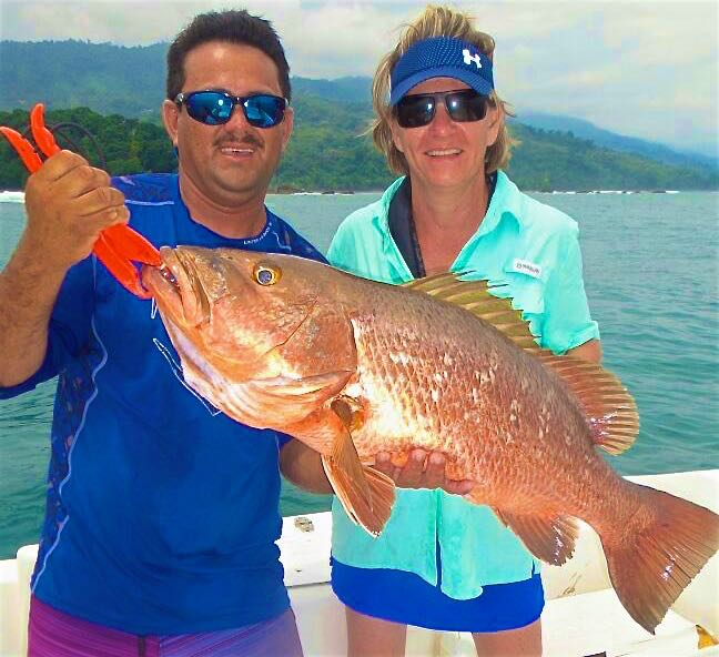 Quepos Inshore Fishing Cubera July 2017
