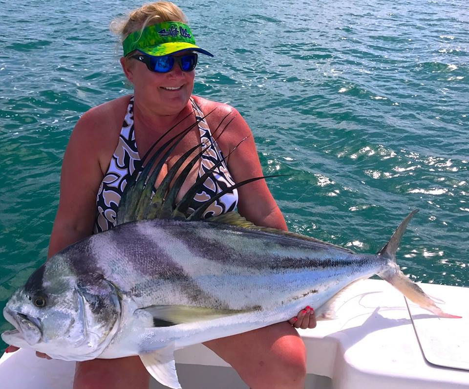 Quepos Roosterfish Inshore Charter Fishing