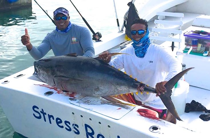 Quepos Charter YellowFin Tuna Fishing