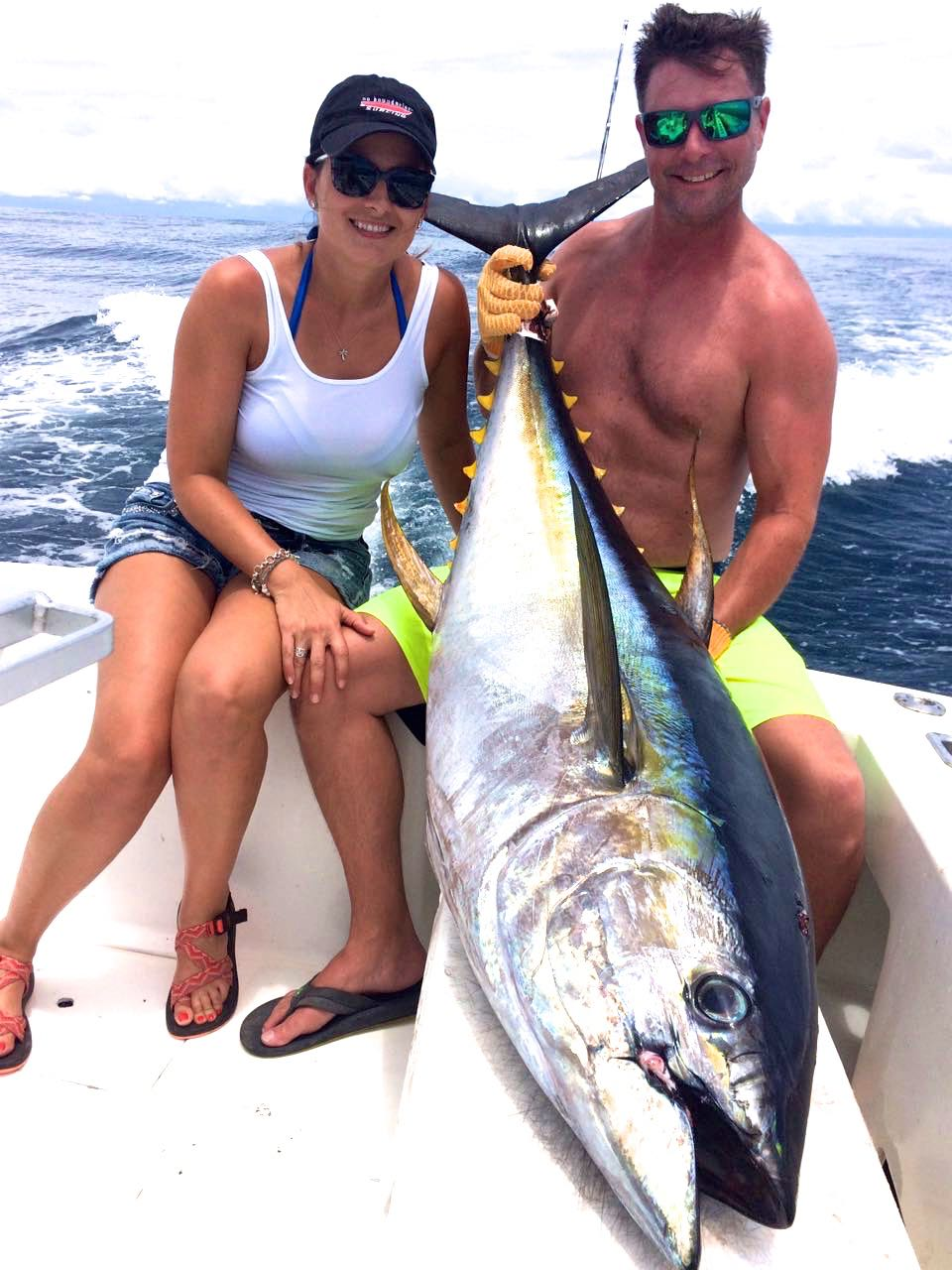 Quepos Costa Rica YellowFin Tuna Fishing Charter