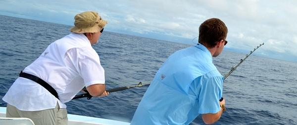Quepos Costa Rica Fishing Double Sailfish