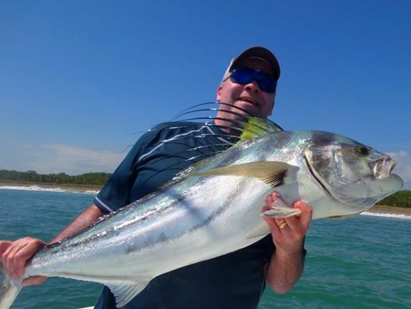 Quepos Inshore Roosterfish fishing charter