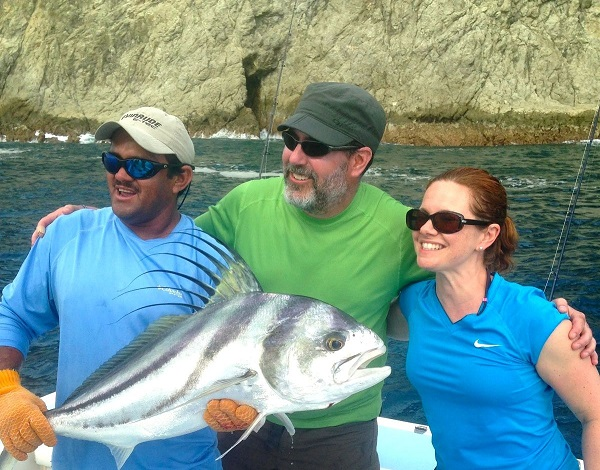 Quepos Roosterfish Fishing
