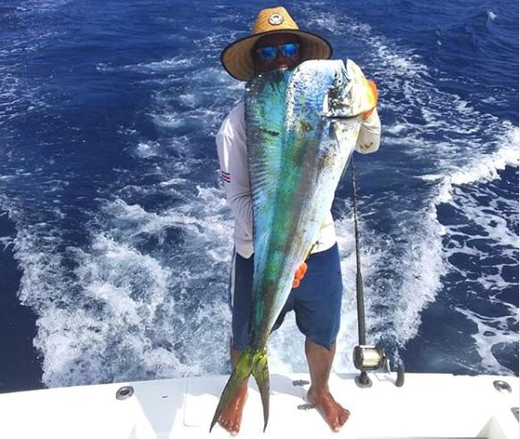 Quepos Costa Rica Dorado fishing
