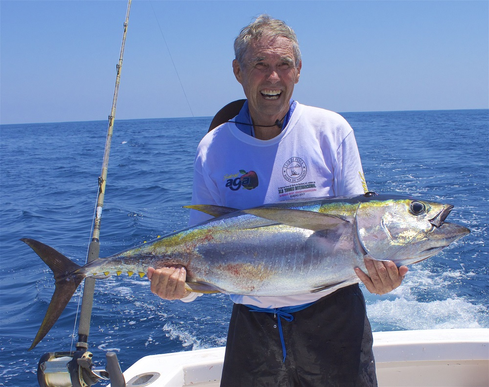 Quepos Fishing Yellow Tuna