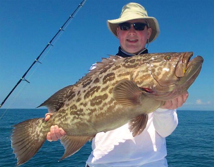 Quepos Fishing  Grouper