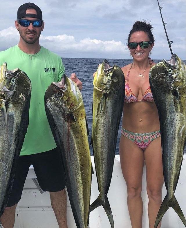 Quepos charter dorado fishing