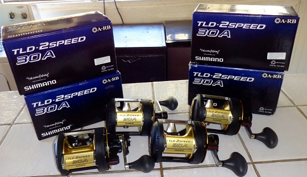 Quepos Fishing Reels