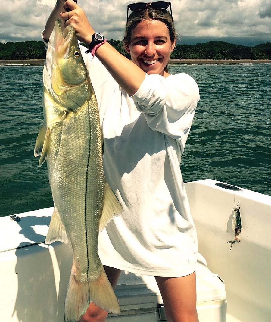 Quepos Costa Rica Snook Fishing