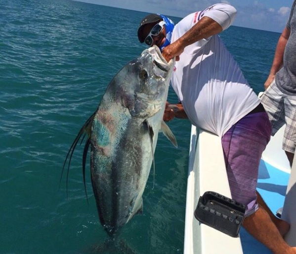 Quepos Roosterfish Charter Inshore Fishing