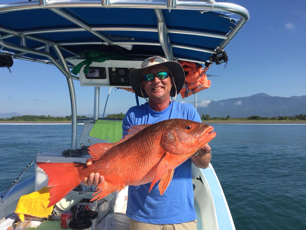 Quepos Snapper Inshore Fishing Charter Boat