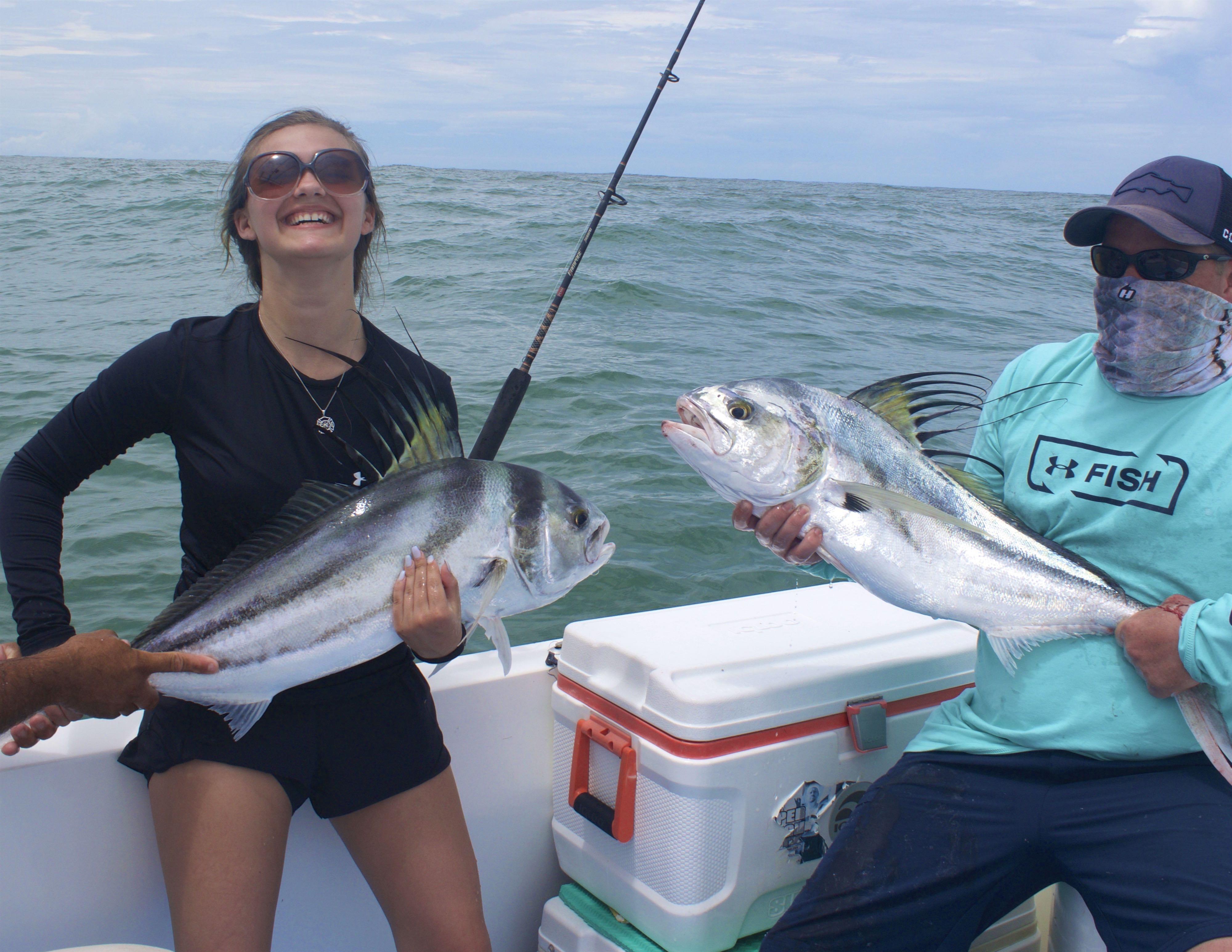 Quepos Fishing Inshore report Roosterfish
