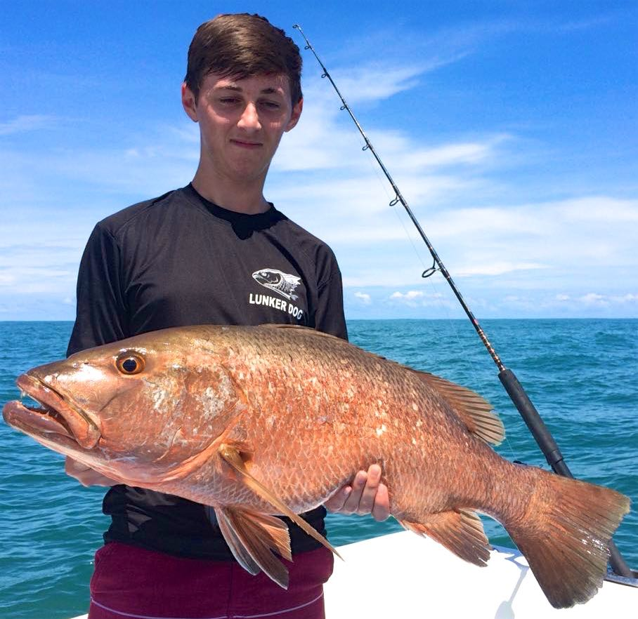 Quepos Inshore Fishing Report Cubera Snapper July 2018