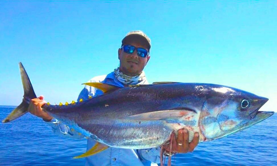 Costa Rica Fishing Charter Boat Yellowfin Tuna