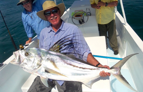 Quepos Roosterfish Fishing