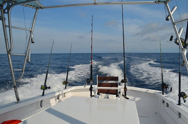 Quepos Fishing Charter Boat Stress Reeliever