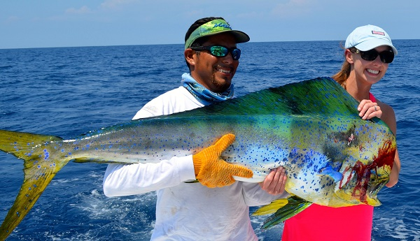 Quepos Dorado fish Fishing